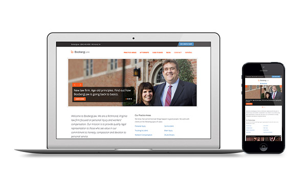 Personal Injury Lawyer Responsive Web Design