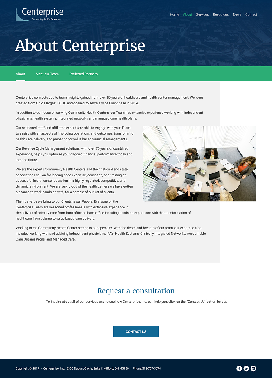 Physicians Health Practice Content Managed Web Design