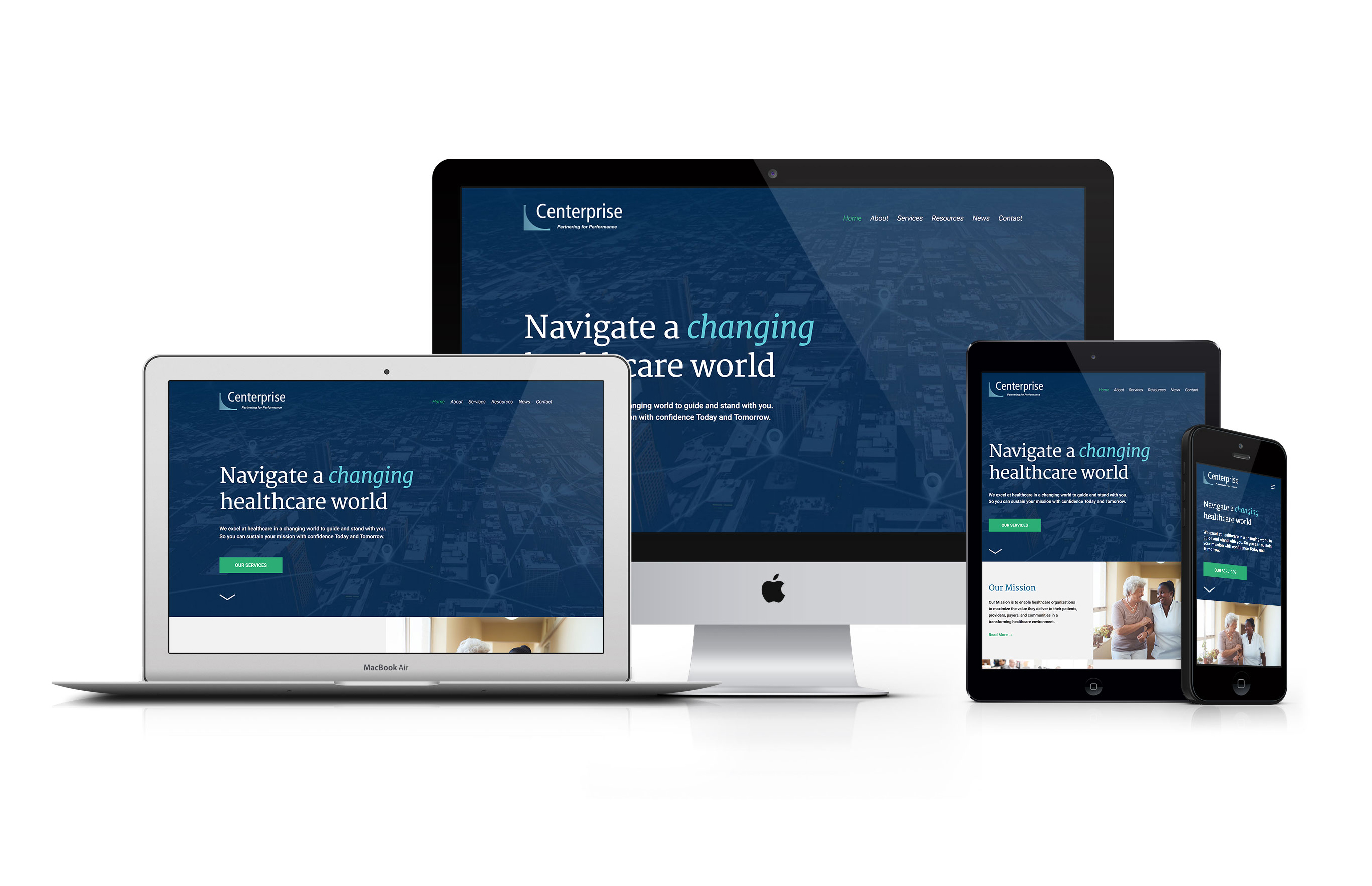 Centerprise Responsive Website Design