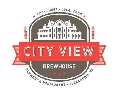 City View Brewhouse Logo Design