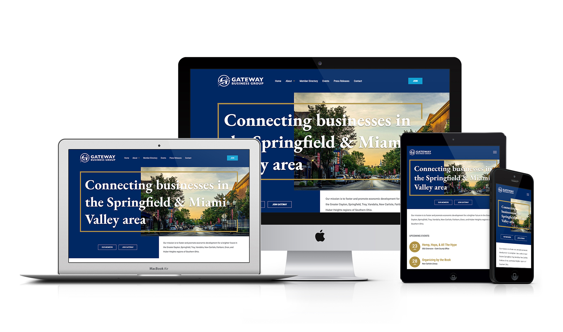 Gateway Business Group Responsive Craft CMS Website Design