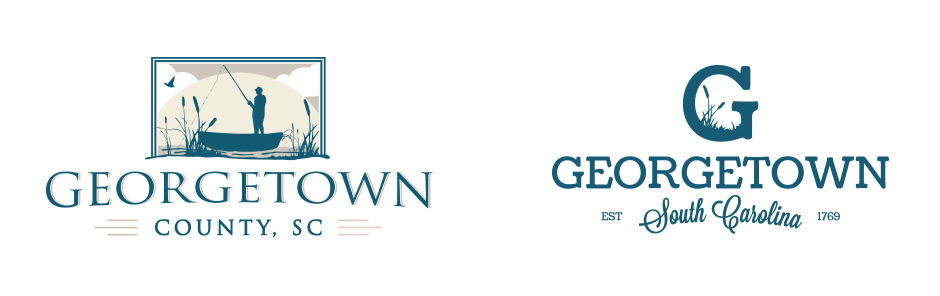 Georgetown County South Carolina Rebranding logo design