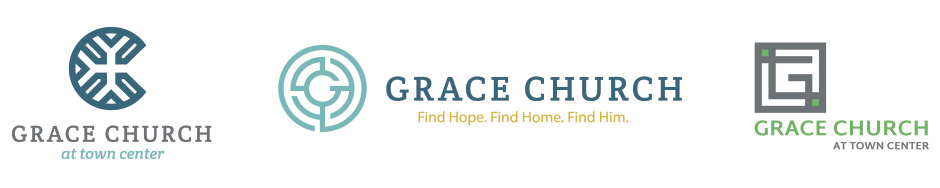 Grace Church at Town Center Logo Additional Logo Designs