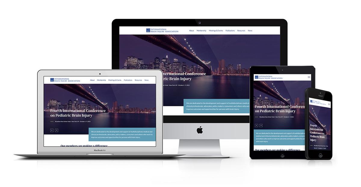 IBIA Responsive Website Design