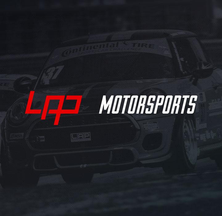 LAP Motorsports Branding & Website