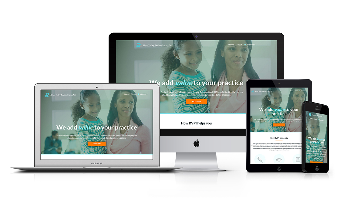 River Valley Pediatricians Inc Responsive Website Design ExpressionEngine
