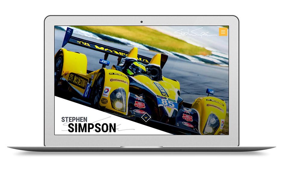 Stephen Simpson Racing Driver