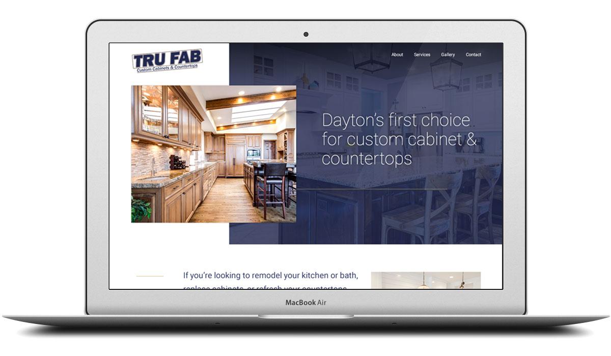 Tru Fab Countertops Responsive Website Design Expressionengine CMS