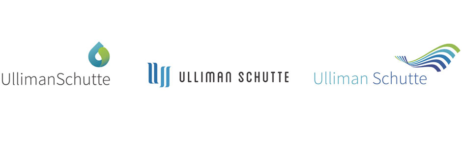 Ulliman Schutte Alternate Logo Design Concepts