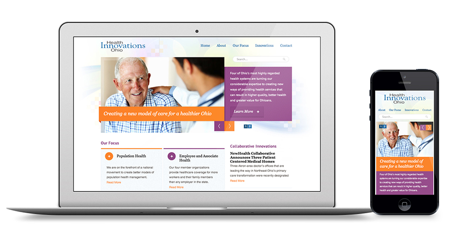 Responsive Healthcare Innovations Website