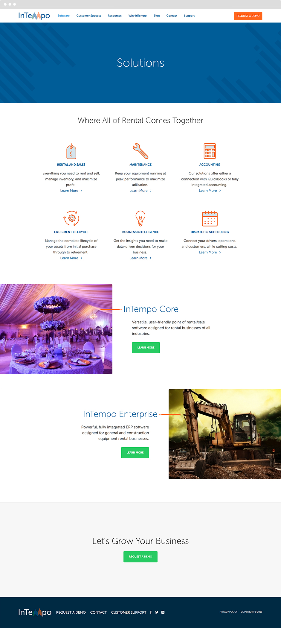 InTempo Software Responsive ExpressionEngine Website Design