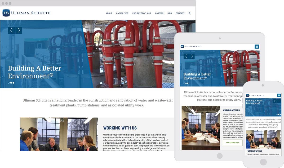 Ulliman Schutte Responsive Expressionengine Website Design